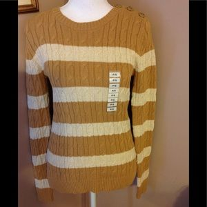 NWT Charter Club sweater.